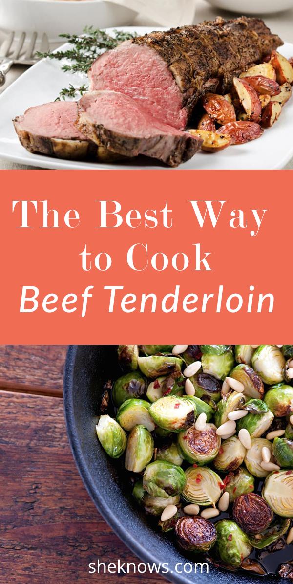 Pin it! How to Cook Beef Tenderloin