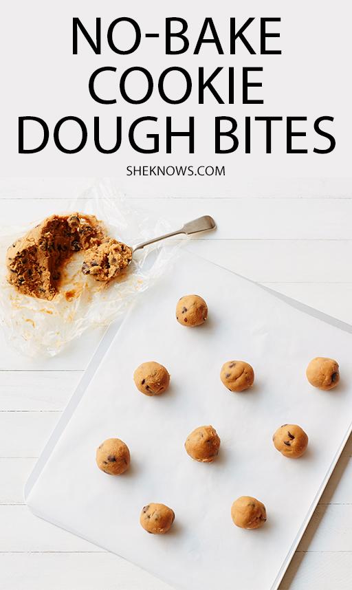 Pin it! No Bake Cookie Dough Bites