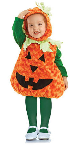 Pumpkin costume for toddlers
