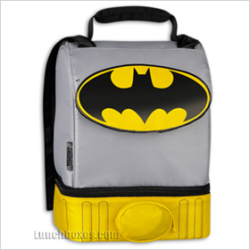 Batman dual-compartment lunchbox