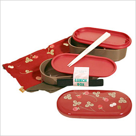 Red Blossom bento box