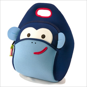 monkey lunch bag