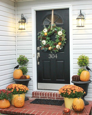 fall front porch by 320 sycamore