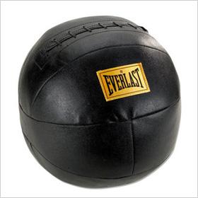 Everlast 9lb Leather Medicine Ball