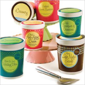 Customized ice cream