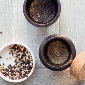 Cast iron spice grinder