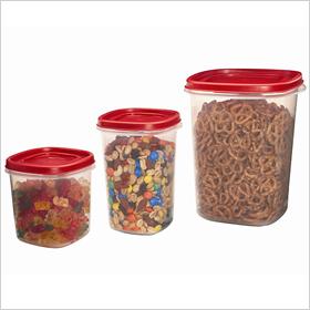 Easy find lids canister set