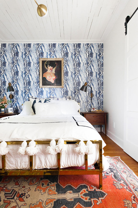Wallpaper The Space Behind Your Headboard