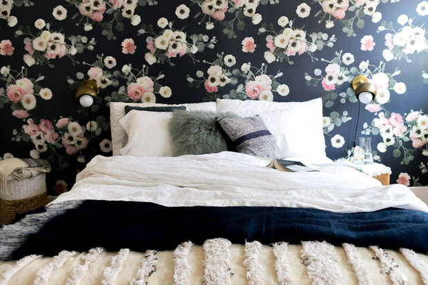 Wallpaper The Space Behind Your Headboard 7