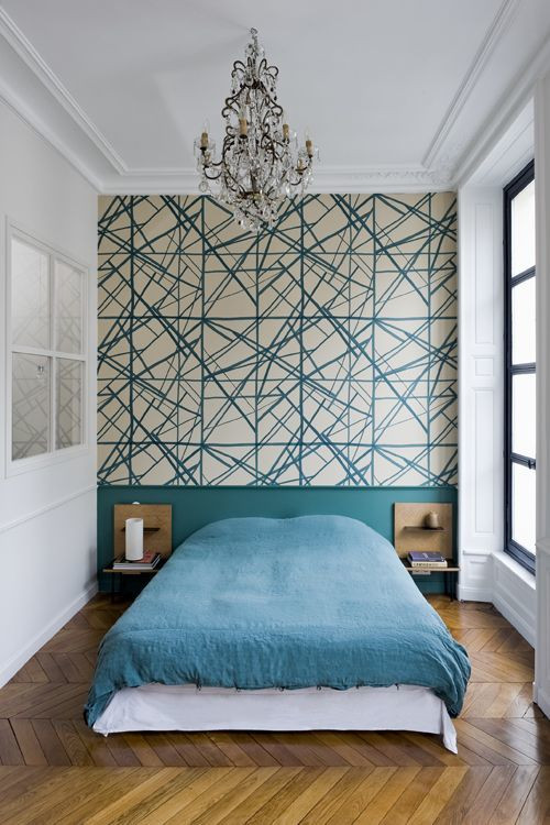 Wallpaper The Space Behind Your Headboard 9