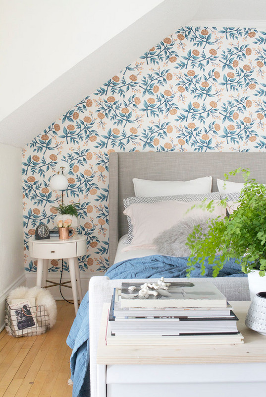 Wallpaper The Space Behind Your Headboard 10