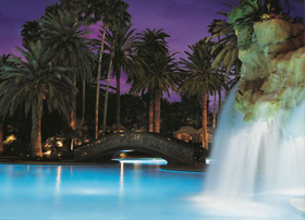 The Mirage Pool at The Mirage Hotel and Casino, Las Vegas