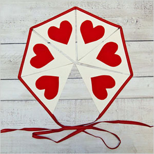 Valentine bunting | Sheknows.com