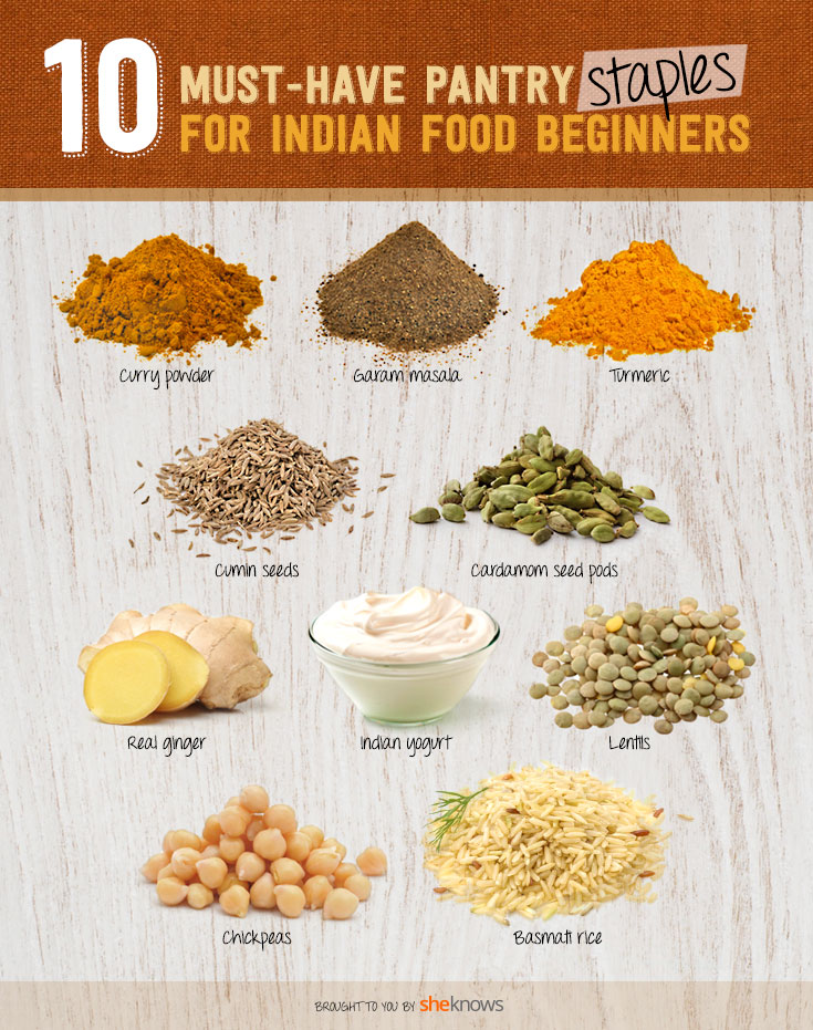 indian food pantry staples