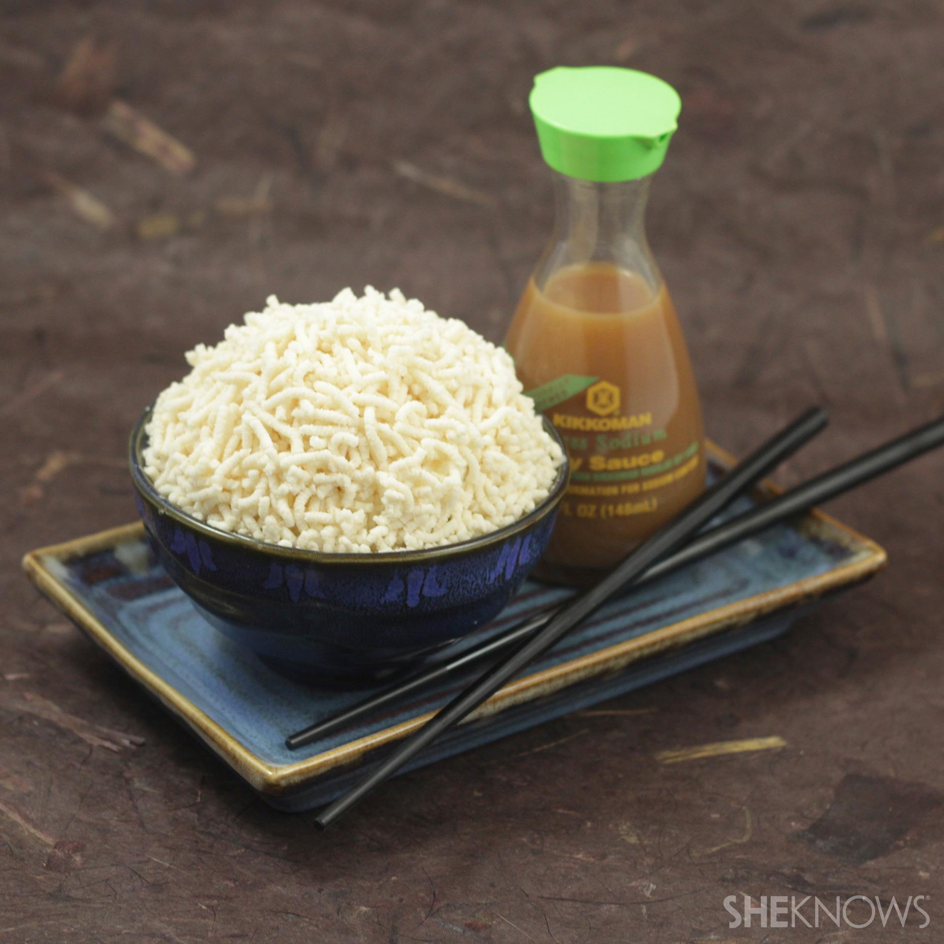 Rice bowl cakes