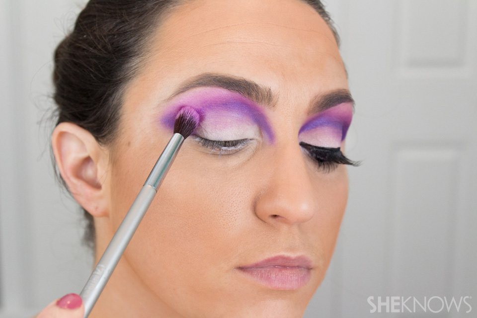 Barbie Halloween Makeup: Step 10