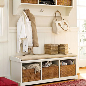 If You Need Heavy Duty Storage For Your Winter Accessories Try A Bench In Entryway Coats Hats Scarves And Boots Stay Organized Style