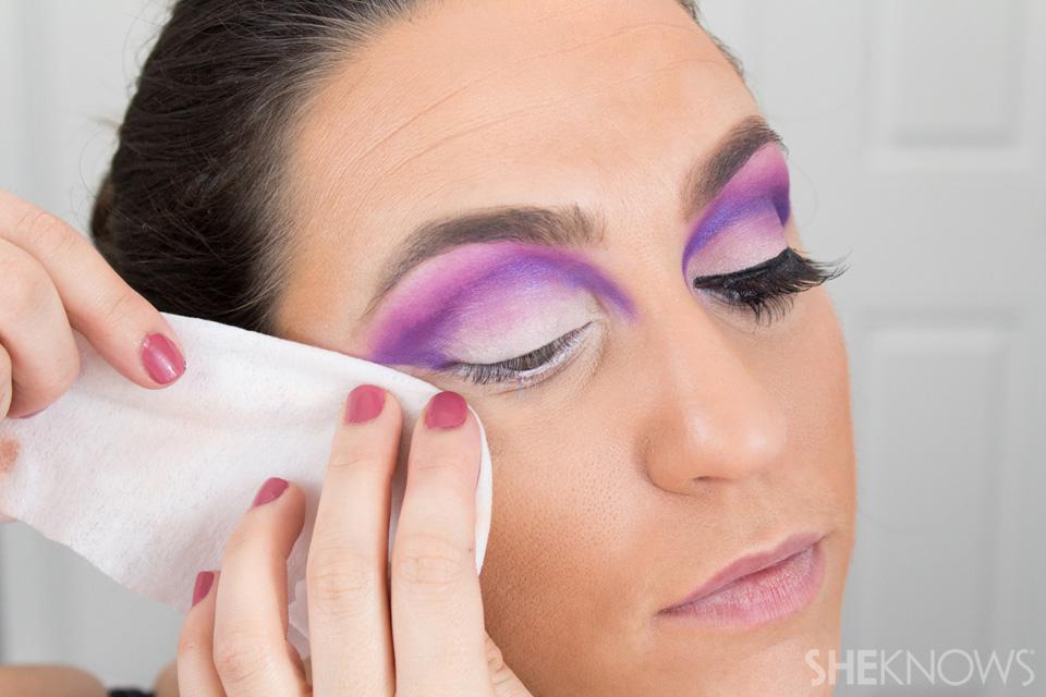 Barbie Halloween Makeup: Step 11