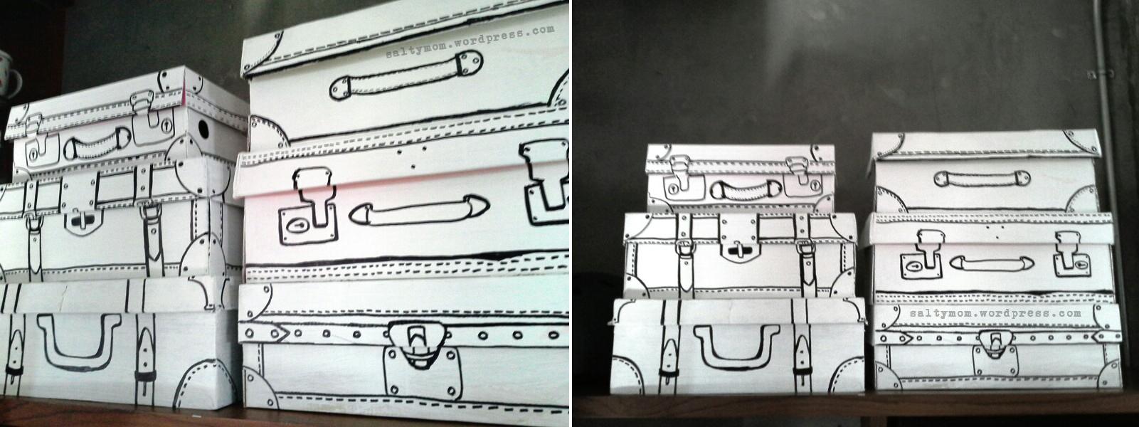 DIY Sharpie storage boxes