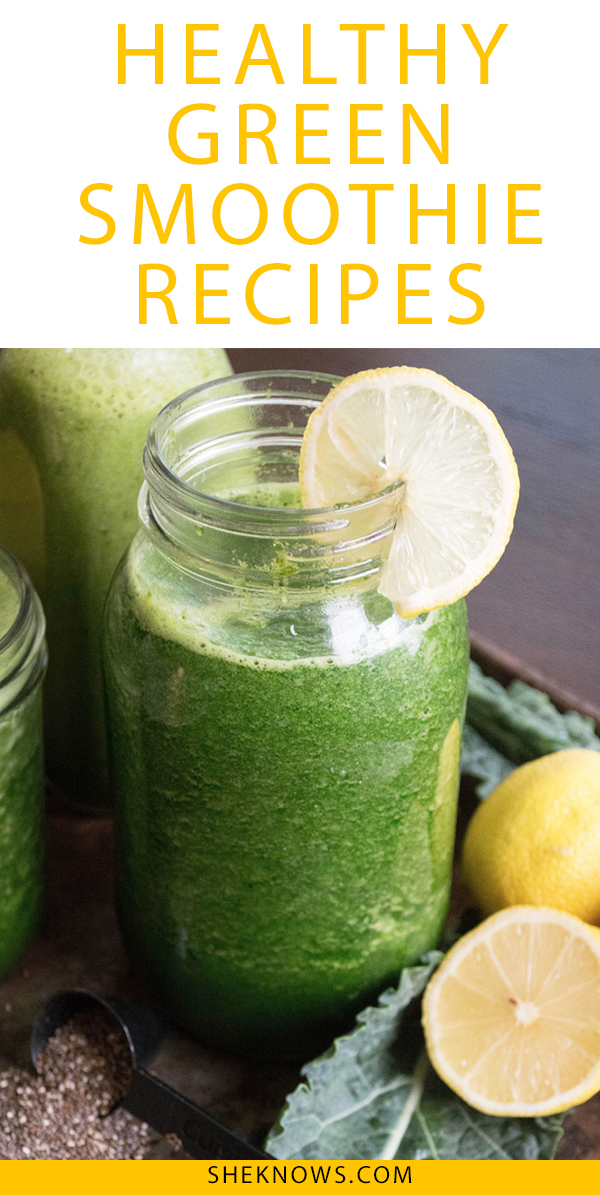 Pin it! Green Smoothie Recipes