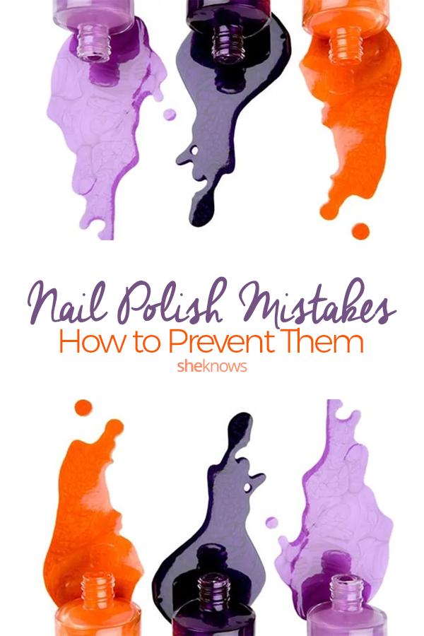 Pin it! 10 Nail Polish Mistakes