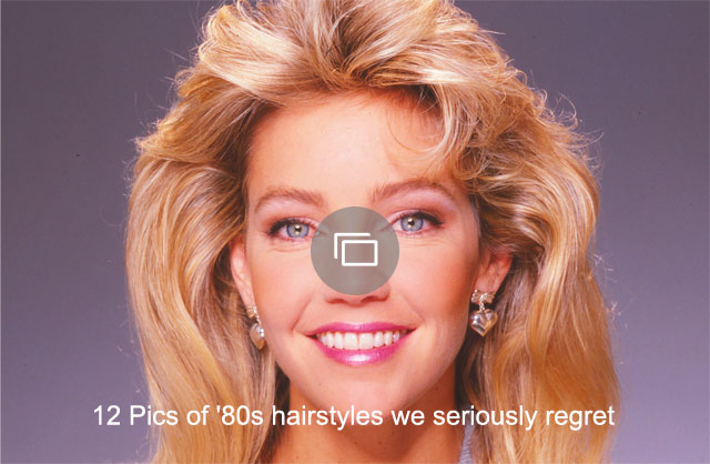 12 Pics of '80s hairstyles we seriously regret