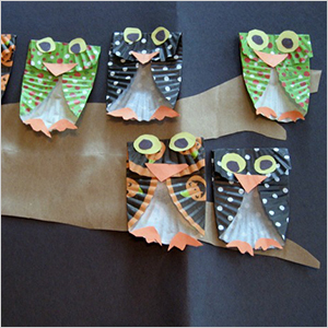 Cucpake liner owl craft | Sheknows.com
