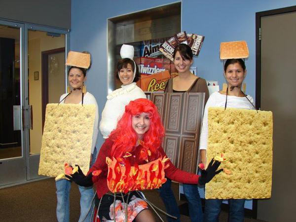 S'mores costumes