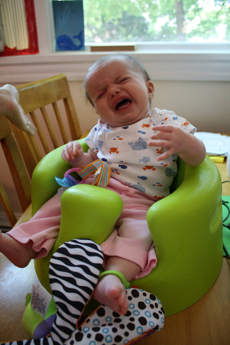 Baby photo fails - Not thrilled with the Bumbo