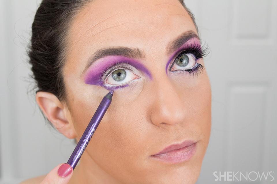 Barbie Halloween Makeup: Step 12