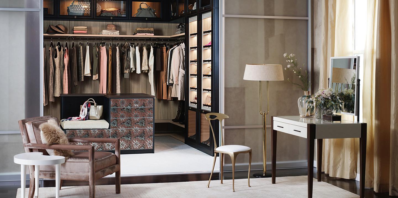 California Closets master closet