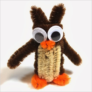 Pipe cleaner owl craft | Sheknows.com