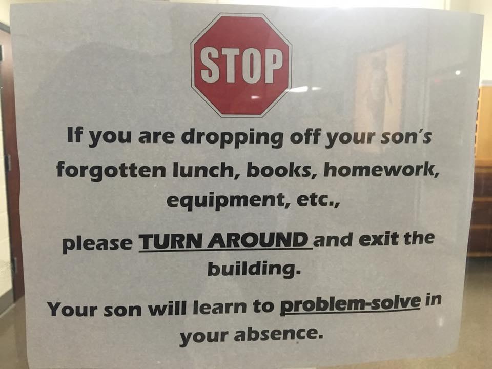 high-school-sign