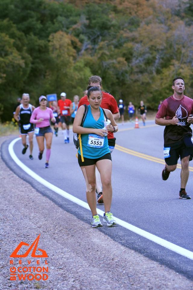 Mom pumps breast milk while running half marathon