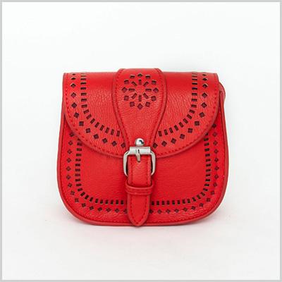 Ricardina Red Mini Saddle Bag (missguidedus.com, $18)