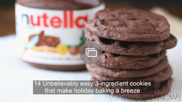 14 Unbelievably easy 3-ingredient cookies that make holiday baking a breeze