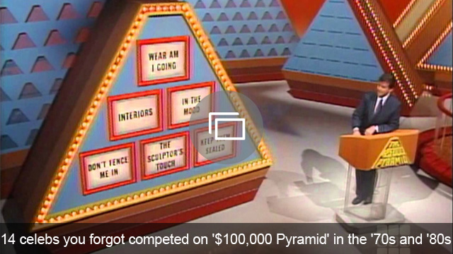 14 celebs you forgot competed on '$100,000 Pyramid' in the '70s and '80s