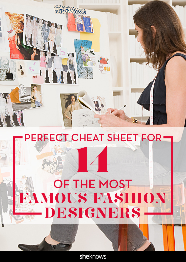 Fashion designers pin