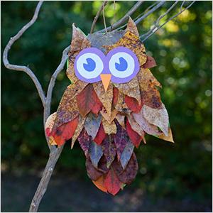 Leaf owl craft | Sheknows.com