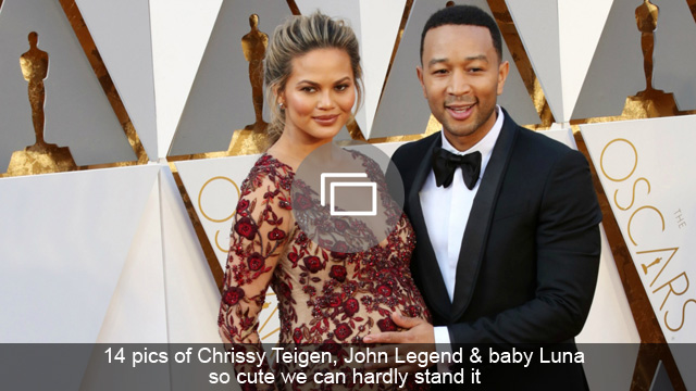 14 pics of Chrissy Teigen, John Legend & baby Luna so cute we can hardly stand it