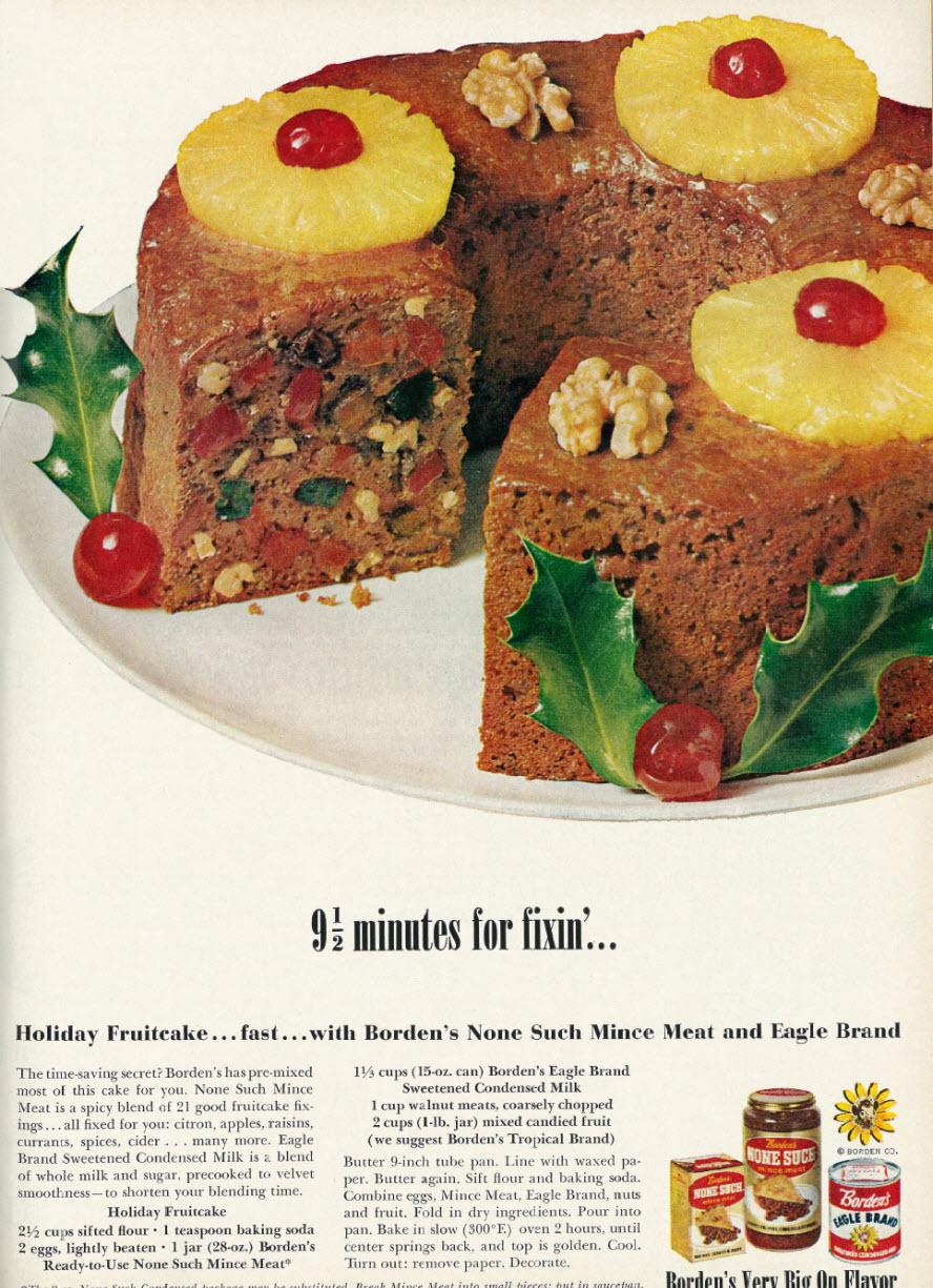 Vintage fruitcake