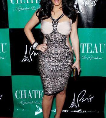 Kim Kardashian Khloe Kardashian Odom celebrates