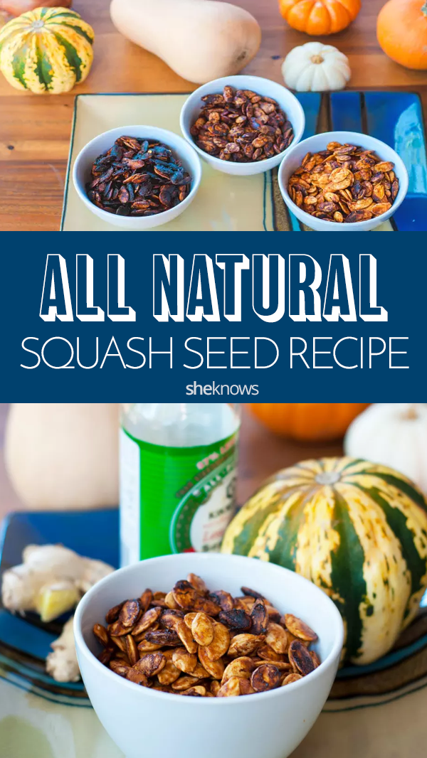 Pin it! Roasted Squash Seed Recipes