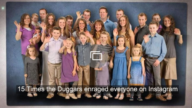 15 Times the Duggars enraged everyone on Instagram