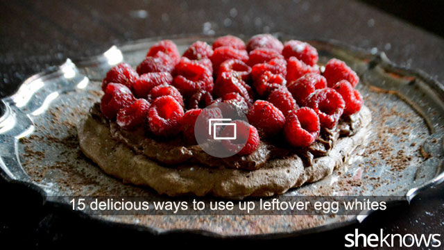 15 delicious ways to use up leftover egg whites