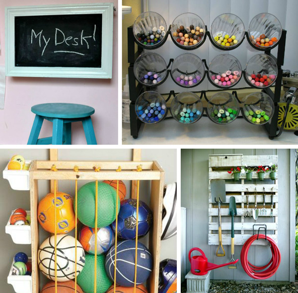 15 Ridiculously simple life-hacks to organize your home