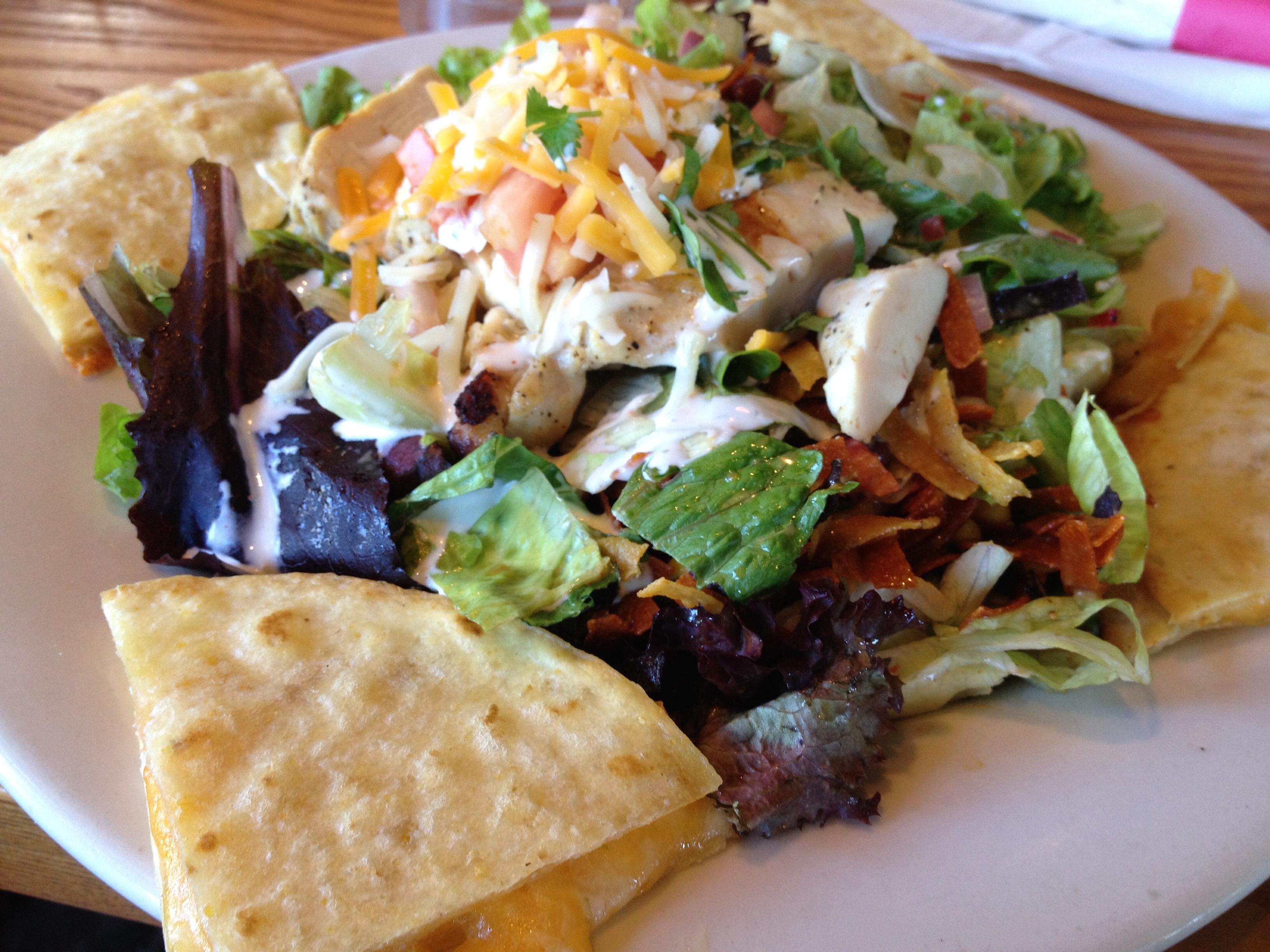 quesadilla explosion salad