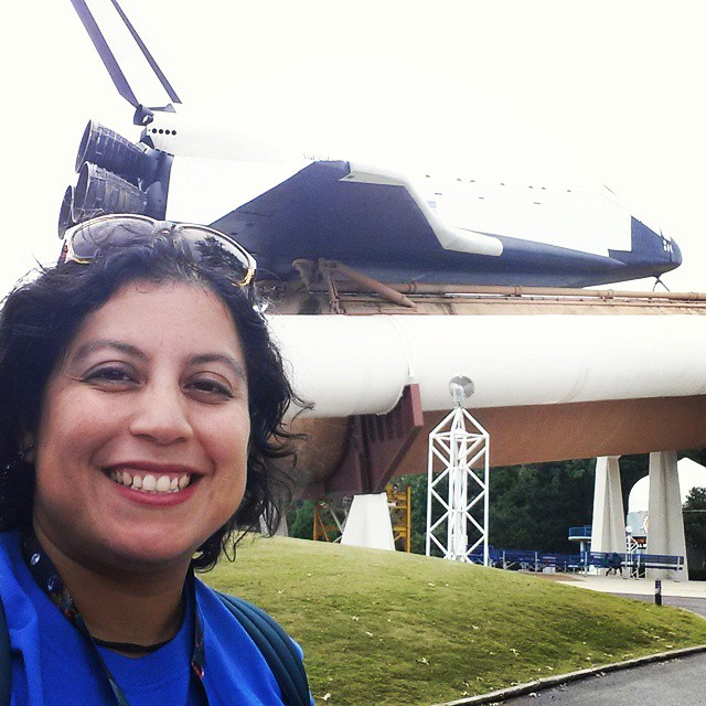 Veronica Arreola at Space Camp