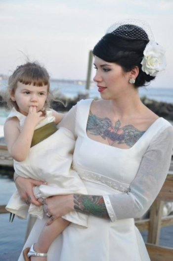 Moms with Amazing Tattoos