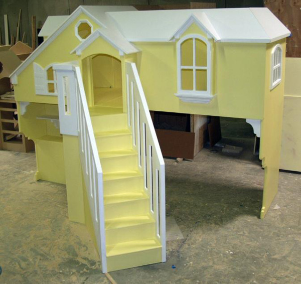 Large playhouse bed
